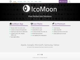 Icon Font & SVG Icon Sets ❍ IcoMoon