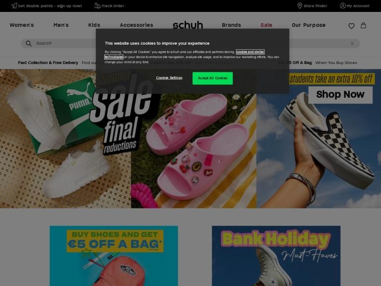 Schuh Shoes screenshot