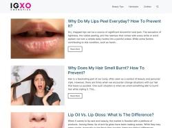 IGXO Cosmetics screenshot