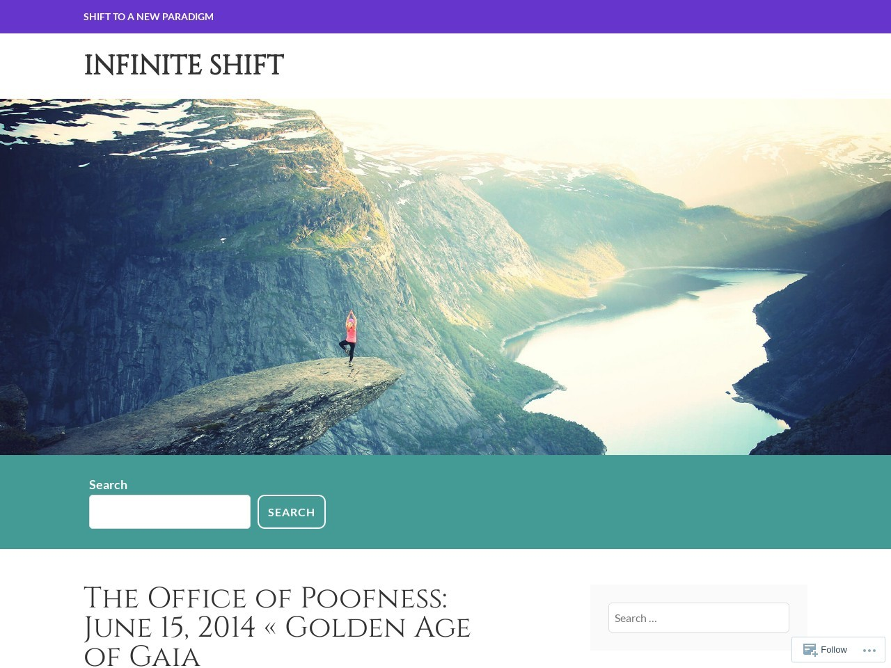 The Office of Poofness: June 15, 2014 « Golden Age of Gaia …