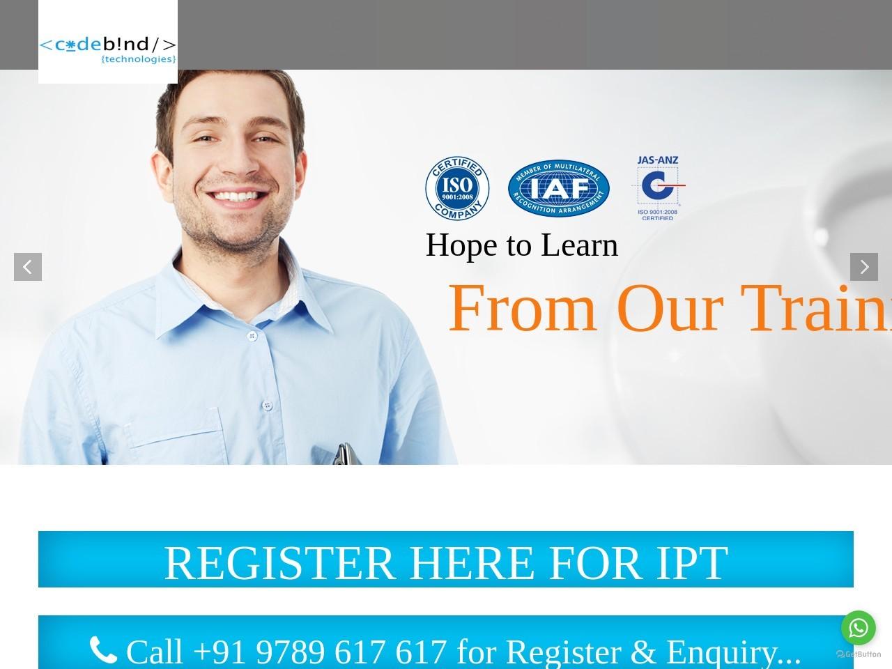Free Inplant Training In Chennai