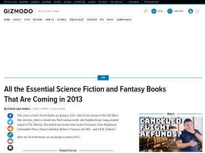 http://io9.com/5974424/all-the-essential-science-fiction-and-fantasy-books-coming-in-2013
