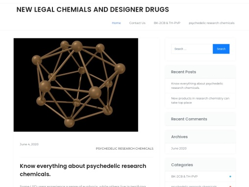 NEW LEGAL CHEMIALS AND DESIGNER DRUGS