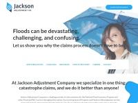 Website Design for Jackson Adjustment Company