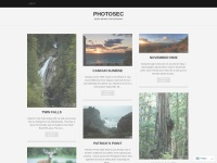 Parament WordPress Theme example