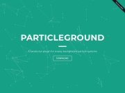http://jnicol.github.io/particleground/