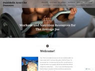 Mystique WordPress Theme example