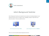 John's Background Switcher | John's Adventures