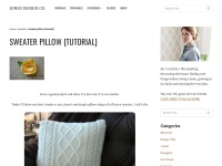 http://jonesdesigncompany.com/tutorial/sweater-pillow-tutorial-2/