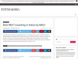 Best NEET Coaching in Indore by MGCI