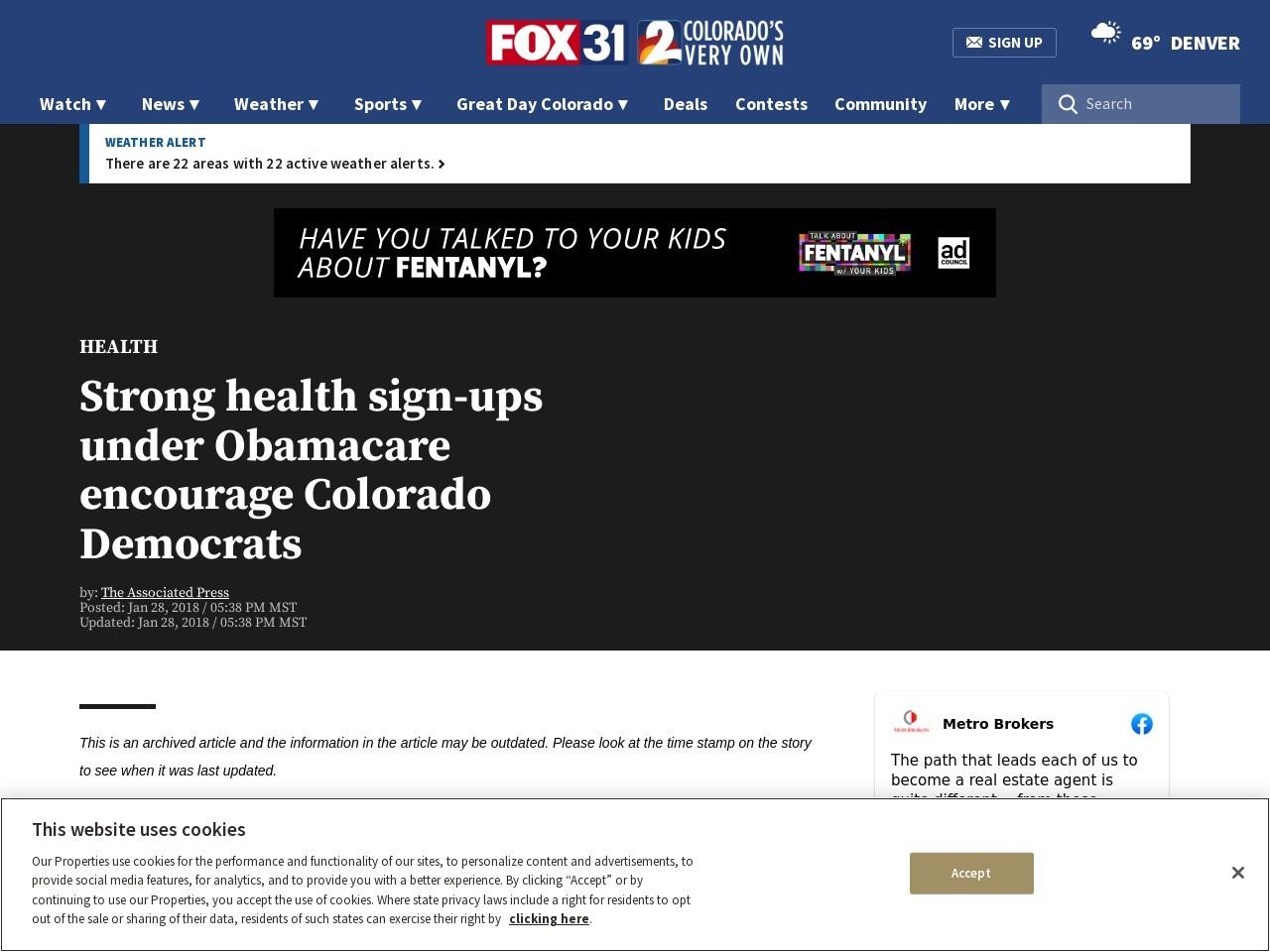 Strong health sign-ups under Obamacare encourage Colorado Democrats