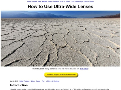 http://kenrockwell.com/tech/how-to-use-ultra-wide-lenses.htm