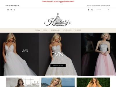 Kimberly's Prom and Bridal Reviews