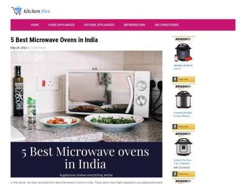5 Best Microwave Ovens in India