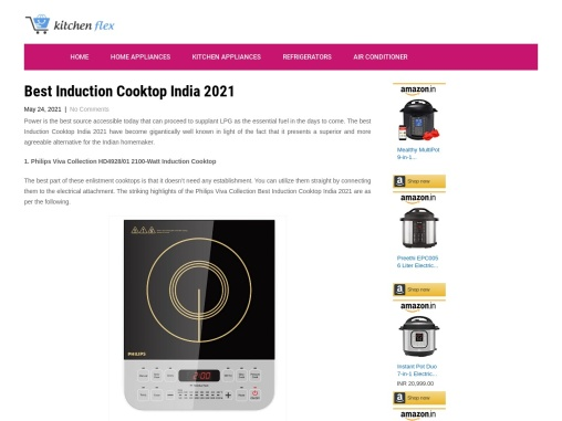 Best Induction Cooktop India 2021