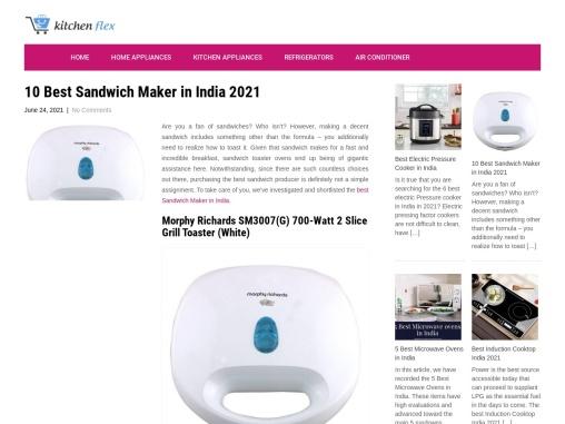 10 Best Sandwich Maker in India 2021