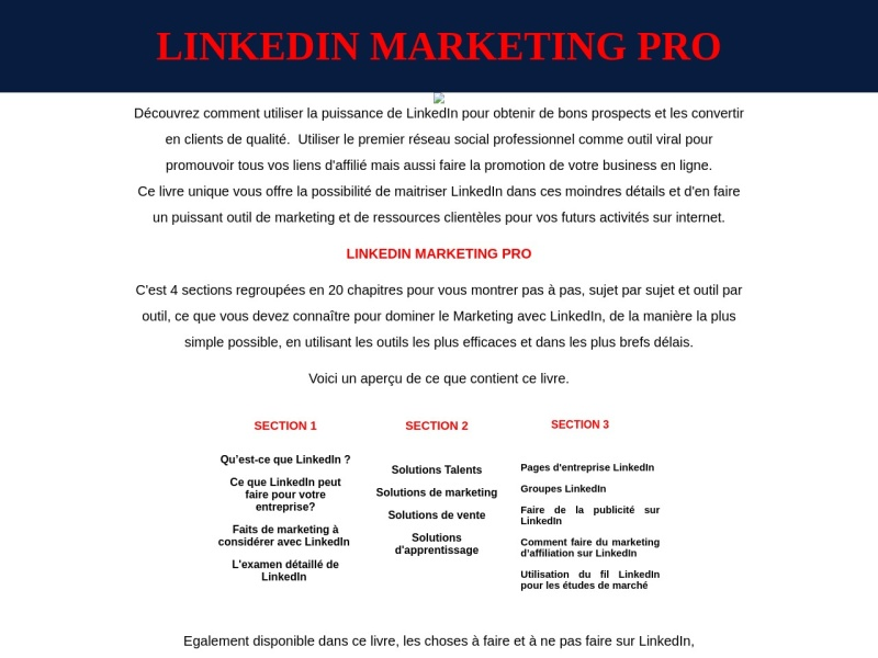 linkedin marketing pro