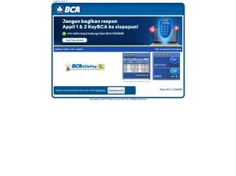 klikbca.com screenshot