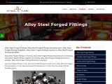 Alloy Steel Forged Fittings – KMD steel and tube