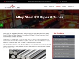 Top Trader of Alloy Steel P11 Pipes & Tubes KMD Steel