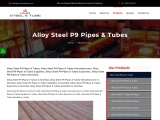 Top Trader of Alloy Steel P9 Pipe & Tube KMD Steel