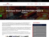 Top Traders of Stainless Steel 309/310/310S Pipes KMD Steel