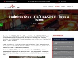 Top Traders of Stainless Steel 316/316L/316Ti Pipes KMD Steel