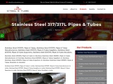 Top Traders of Stainless Steel 317/317L Pipes KMD Steel