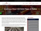 Top Traders of Stainless Steel 321/321H Pipes KMD Steel