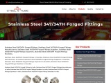 Stainless Steel 347 Forged Fittings In Mumbai – Kmd Steel and Tube