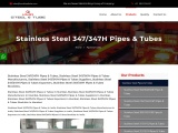Top Traders of Stainless Steel 347/347H Pipes KMD Seel
