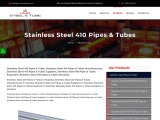 Top Traders of Stainless Steel 410 Pipes & Tubes KMD Steel