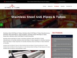 Top Traders of Stainless Steel 446 Pipes & Tubes KMD Steel
