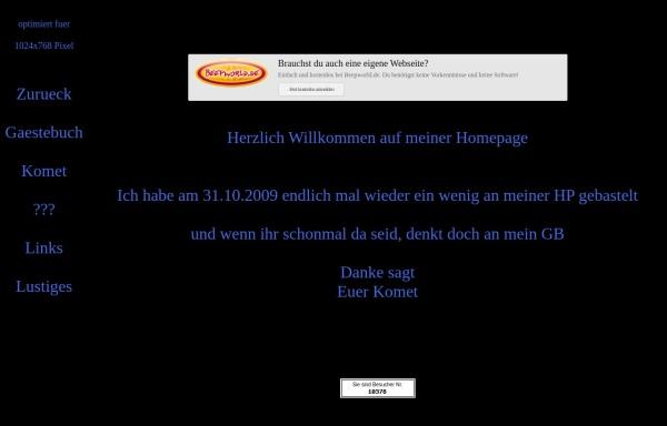 Vorschau von kometge.beepworld.de, Kometge
