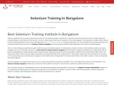 Selenium Training in Bangalore – KRN informatix