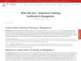 About KRN informatix | Selenium Training Institutes in Bangalore