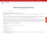 KRN Informatix | Selenium corporate training.