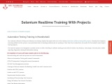 KRN informatix | Selenium realtime training with projects