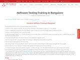 KRN Informatix | Selenium Software Testing Training Bangalore