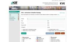 kvk.bibliothek.kit.edu Vorschau, Karlsruher Virtueller Katalog