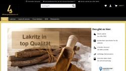 lakritz-spezialitaeten.de Vorschau, Lakritz Spezialitäten