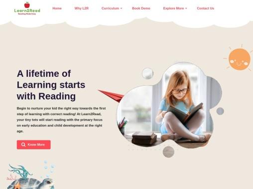 learn2read- best phonics classes