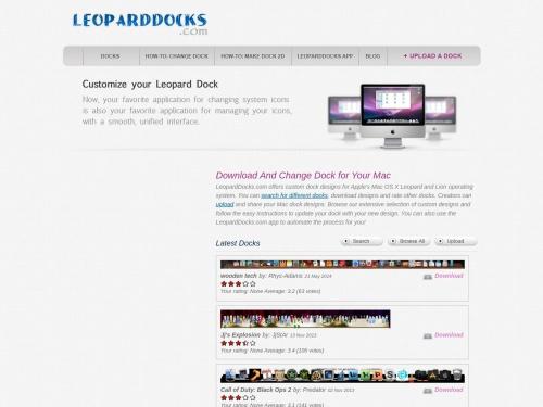 Welcome to Leopard Docks | Leoparddocks.com