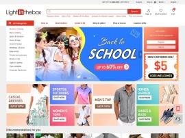 Online store LightInTheBox