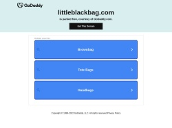 http://littleblackbag.com coupon and discount codes