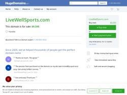 Livewell Sports screenshot
