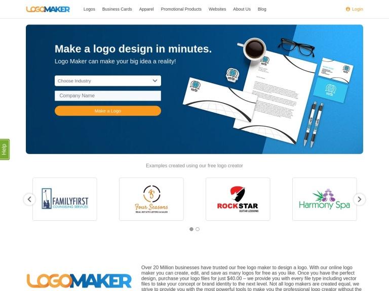 Logo Mojo screenshot