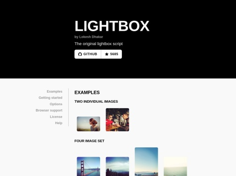 http://lokeshdhakar.com/projects/lightbox2/