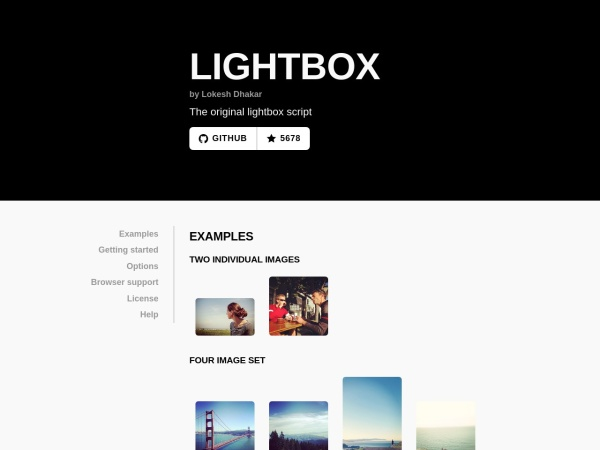 http://lokeshdhakar.com/projects/lightbox2/
