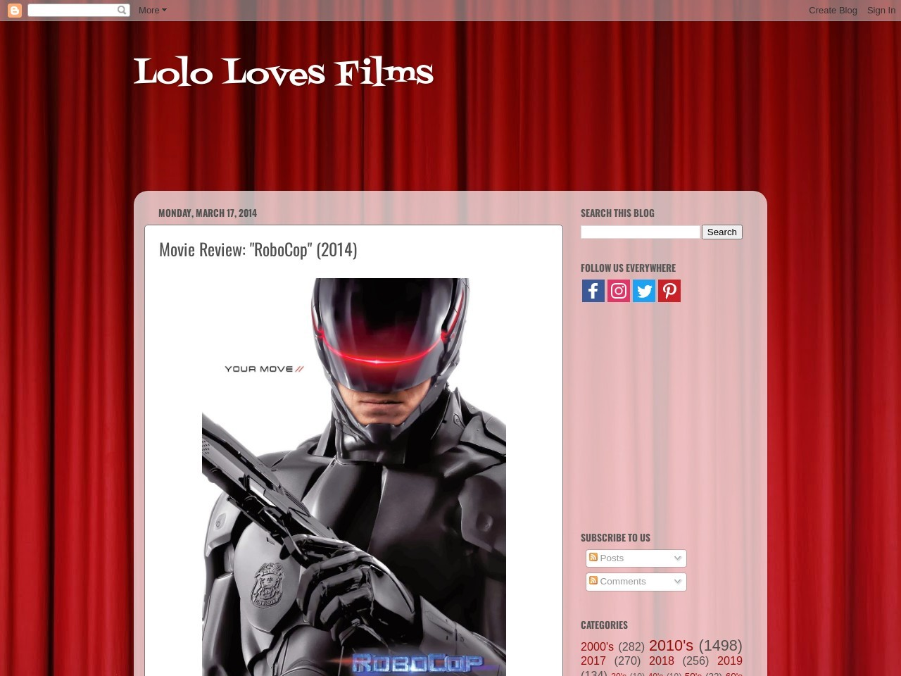 Lolo Loves Films!: 365 Days of MoviePass Review, Movie …